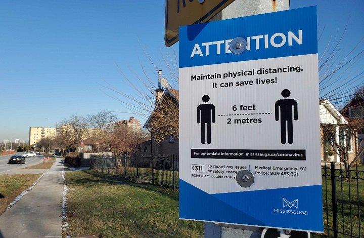 Peel Region's top doctor recommending moving to grey lockdown in Ontario's COVID-19 framework