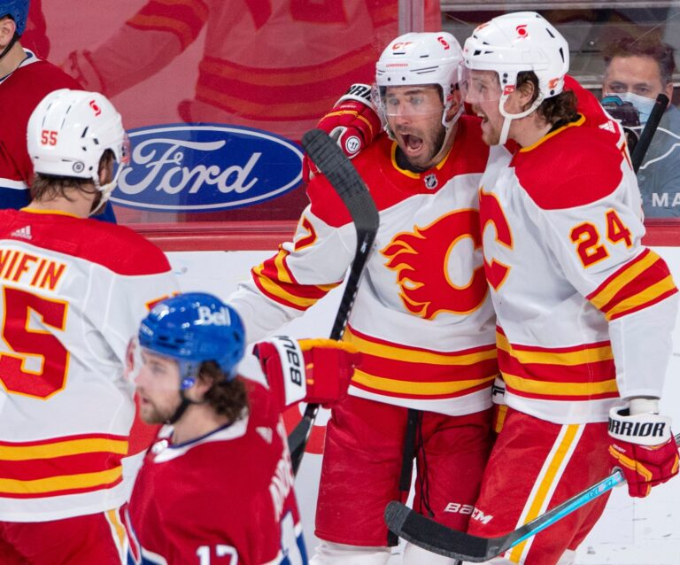 Calgary Flames put playoff pressure on Montreal Canadiens with 4-1 win over Habs