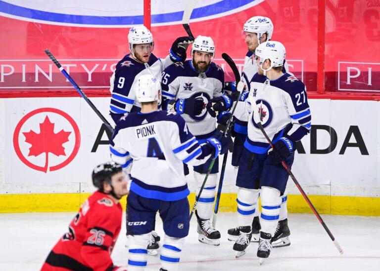 Winnipeg Jets bounce back with 3-2 win in Ottawa