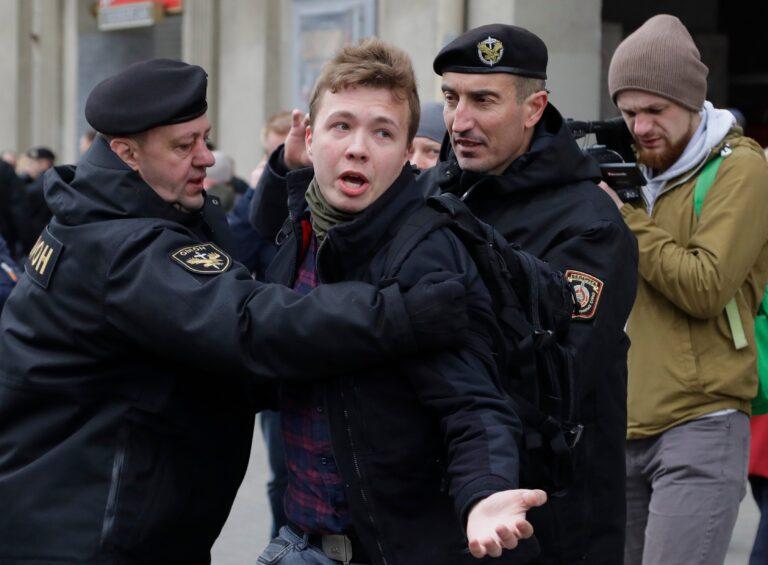 Belarus sinks deeper into isolation after journalist's dramatic arrest