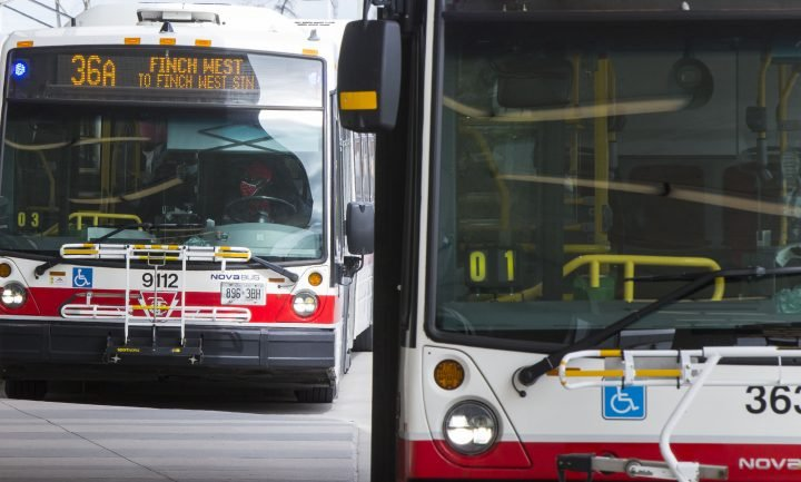 TTC bus driver allegedly assaulted after asking riders to wear masks, 2 people charged