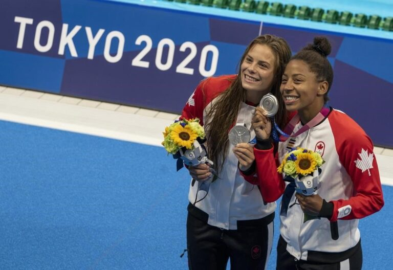 Canadian women divers secure silver at Tokyo 2020 Olympics